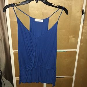 Blue top from Zara